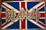 DEF LEPPARD Belt Buckle + display stand